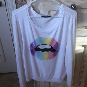 Wildfox Mouth Sweatshirt Size L